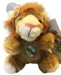 Real Madrid Plush Toy with Adhesive Puck 15 cm