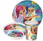 Shimmer and Shine , Dinner set Melamin