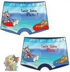 Tom and Jerry Baby Swimpants, Short 12-36 months