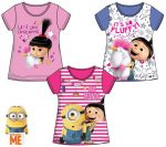 Minions, Agnes and Fluffy Child T-shirt 3-8 year
