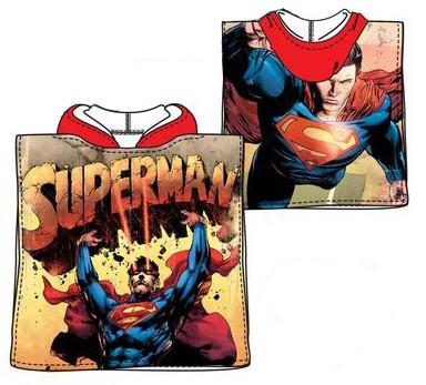 Superman Poncho 50 100 cm (Fast Dry) - Javoli Disney Licensed Online Store d91de211d5