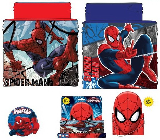 Spiderman Child Snood Scarf Javoli Disney Licensed