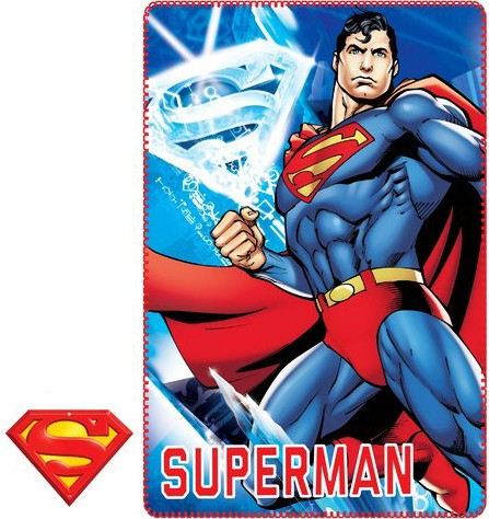 Superman Fleece Blanket 100 150 cm - Javoli Disney Licensed Online Store bad3a42cd1