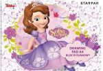 Disney Sofia 20 Pages Drawing Block A/4