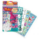 Trolls Stickers and Decoration Template Set