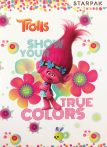 Trolls A/5 lined notebook 16 Pages