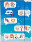 Disney Emoji Frozen A/4 Rubber Folder