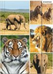 Animal A/4 Rubber Folder